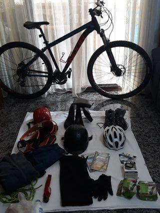 Bicicleta de montaña 350€ o Pack Cafem +Bici 500€