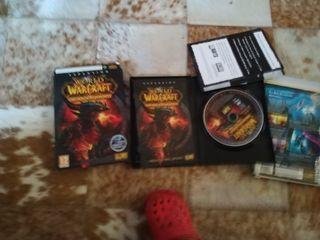 2 juegos Warcraft