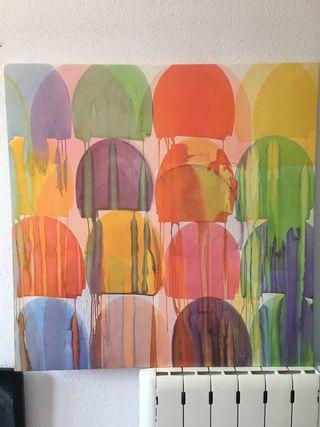 Cuadro ikea de colores