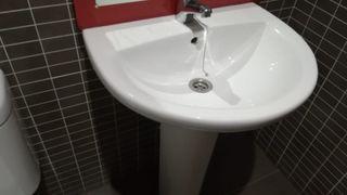 Bañera, bidet y lavabo Porcelanosa