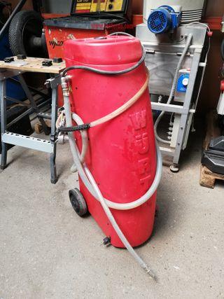 Máquina para cambio de liquido refrigerante Wurth.