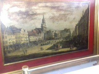 Pintura antiguas sobre tabla