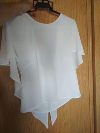 camisa blusa blanca ibicenca