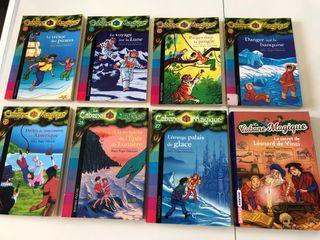 Libros infantiles en francés- la cabane magique