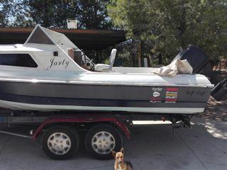 barco 5m cambio por moto de agua o vendo