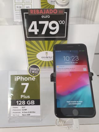Iphone 7 Plus 128 gb black ¡¡¡ oferta !!!