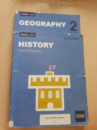 libros historia y geografia 2°eso (en ingles)