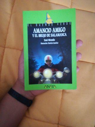 LIBRO AMANCIO AMIGO Y EL BRUJO DE SALAMANCA