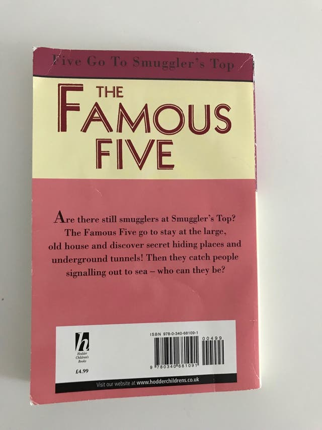 The Famous Five - Five Go To Smuggler's Top