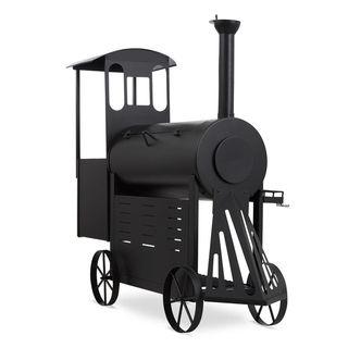 barbacoa de diseño en forma de locomotora nueva!!!