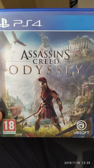 Assassin's creed Odyssey AC ps4 PlayStation 4