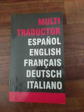 Libro traductor a varios idiomas