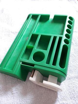 Organizador de escritorio de plástico