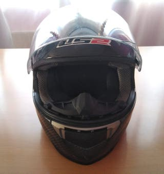 Casco moto Carbono LS2 FF396.CR1 Talla S
