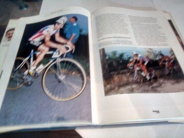 Libros de ciclismo.