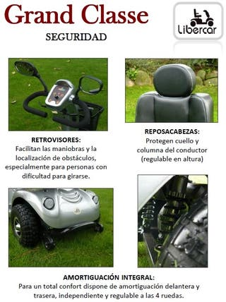 Scooter eléctrico gama alta Grand Classe Libercar