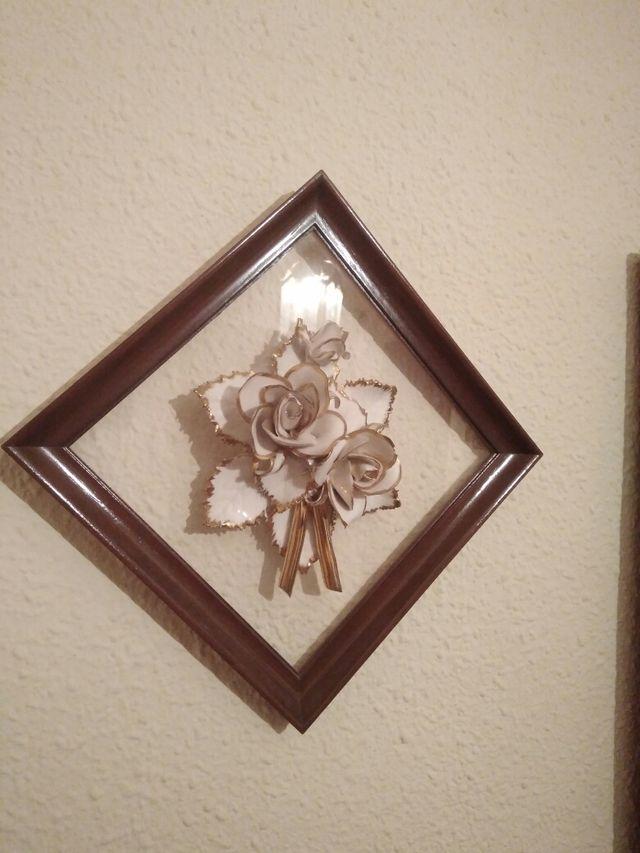 Cuadro flores cerámica ÚLTIMOS DÍAS DE VENTA