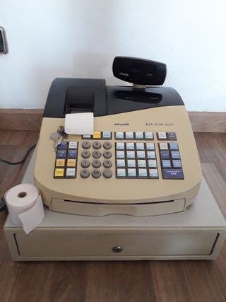 Caja registradora olivetti modulo ECR 2350 euro