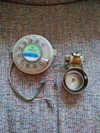 Mecanismo para marcar de teléfonos antiguo.