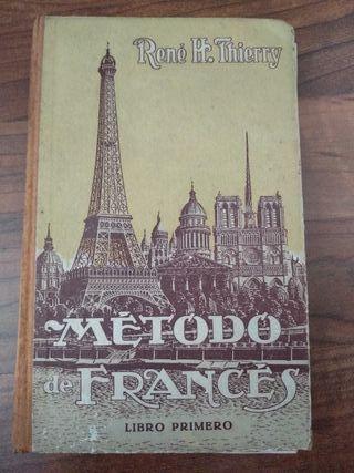 Libro para aprender francés.