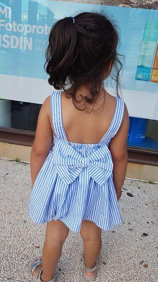 Vestido niña talla 2 años