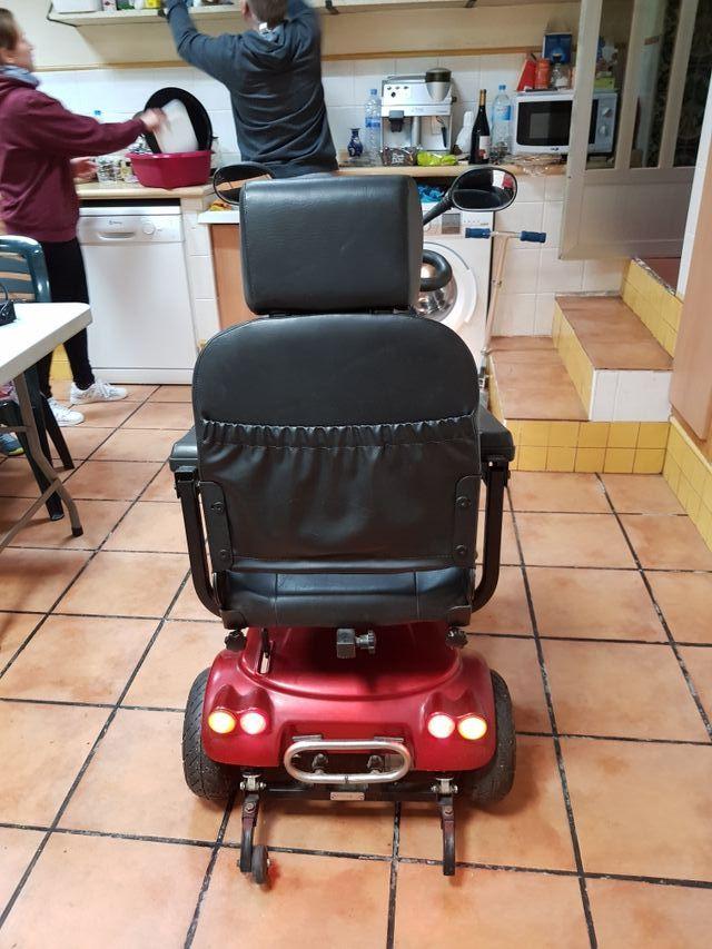 scooter eléctrico personas movilidad reducida