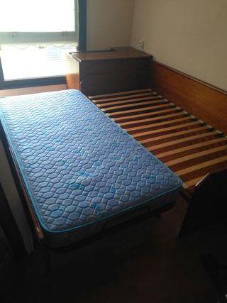 cama nido de 90cm con dos colchones