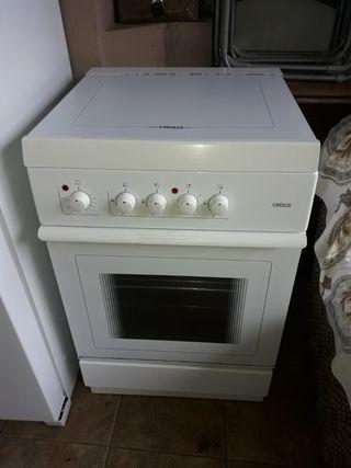 Cocina y horno Mixta (Gas/electricidad)
