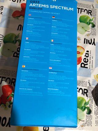 Auriculares gaming bluetooth LOGITECH a estrenar.