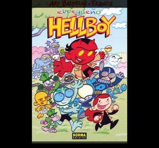 Cómics. El pequeño Hellboy