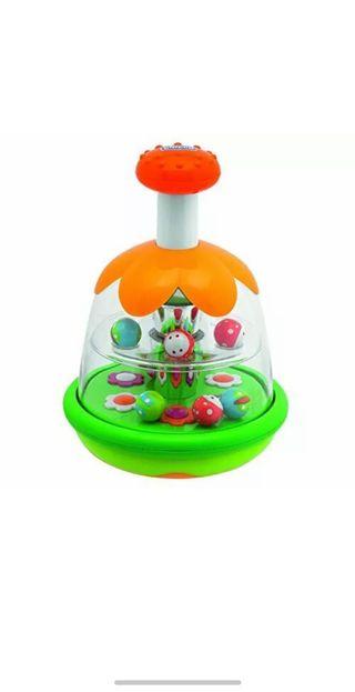 Chicco - Peonza mágica para juegos de bebés NUEVO