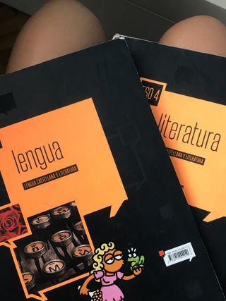 Libros Lengua y Literatura 4 ESO edelvives