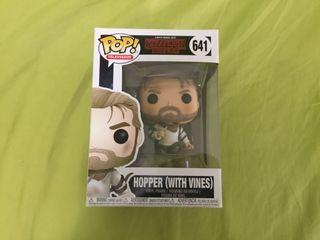 Funko pop hopper (with vines) stranger things