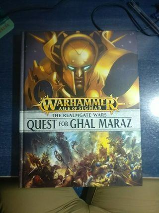Libro Warhammer Age of sigmar