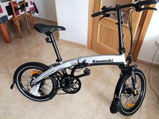 Bici Kawasaki eléctrica KBAF20