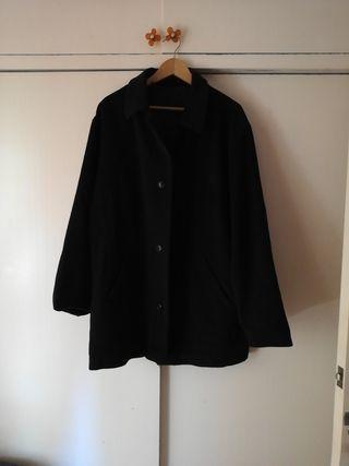 Abrigo negro hombre Easy Wear