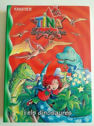 Libro infantil: Tina superbruixa i els dinosaures