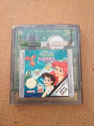 La sirenita II Pinball Game boy color