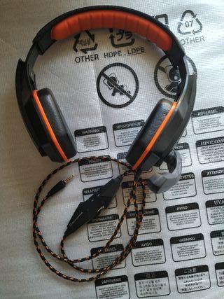 Auriculares gaming Blackfire BFX-10