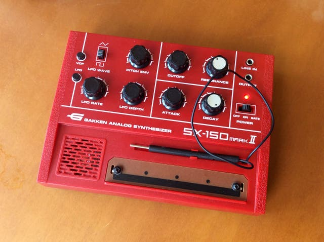 Sintetizador analógico Gakken SX-150