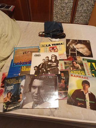 Discos de vinilo LP de diferentes autores