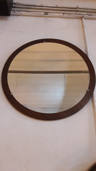 Espejo grande redondo de segunda mano en wallapop - Espejos grandes segunda mano ...