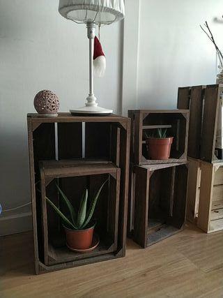 Cajas madera exelente calidad Betún de Judea