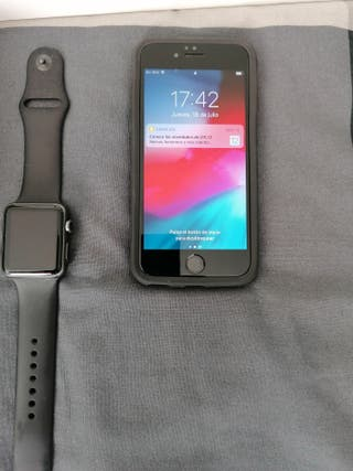 iPhone 6s + iwatch serie 1