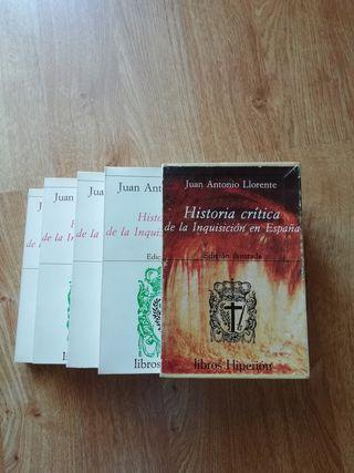 Historia crítica de la Inquisición en España