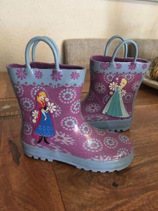 Botas de agua frozen de Disneystore T.29