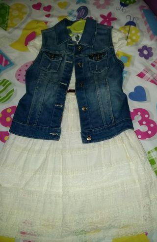Vestido de niña Mayoral