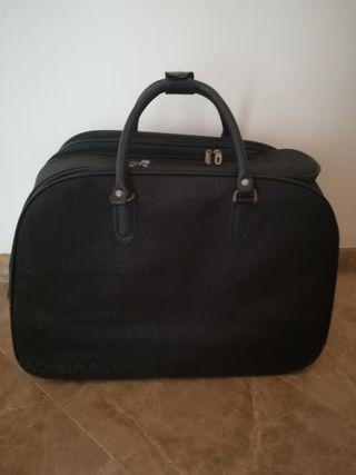 Maleta tipo bolsa grande + neceser pequeño