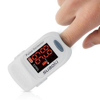 NUEVO. Oxímetro de dedo pulsómetro digital