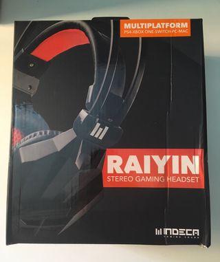 Auriculares Raiyin Indeca